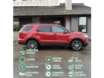 2017 Ford Explorer Sport (Stk: 12879A) in Saskatoon - Image 2 of 21