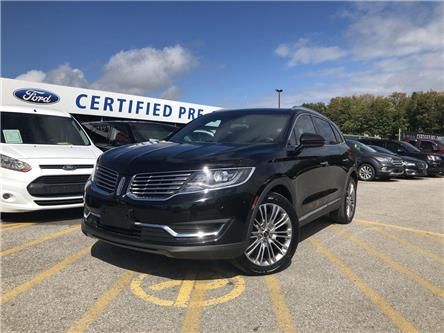 2017 Lincoln MKX Reserve (Stk: NT191087A) in Barrie - Image 1 of 30