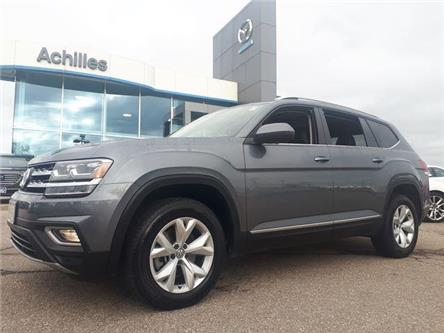 2019 Volkswagen Atlas 3.6 FSI Highline (Stk: P5939) in Milton - Image 1 of 12