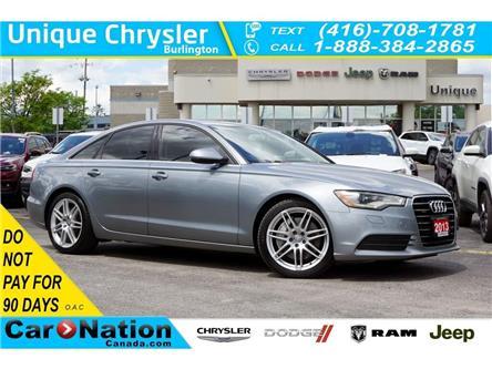 2013 Audi A6 3.0T| QUATTRO| NAV| AUDI DRIVE SELECT| PARK AID (Stk: K471A) in Burlington - Image 1 of 49
