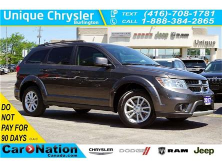 2017 Dodge Journey SXT| NAV| DVD| SUNROOF| ALPINE SOUNDS & MORE (Stk: K861B) in Burlington - Image 1 of 50