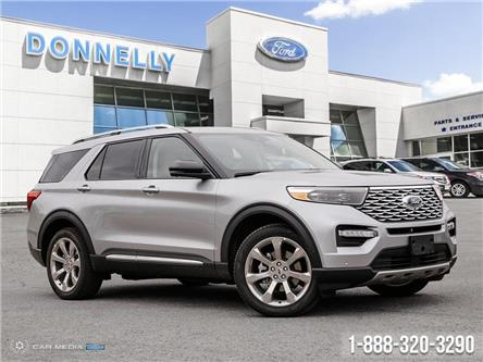 2020 Ford Explorer Platinum (Stk: DT38) in Ottawa - Image 1 of 27