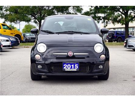 2015 Fiat 500 SPORT| RED BRAKE CALIPERS| SPORT SUSPENSION & MORE (Stk: K1047B) in Burlington - Image 2 of 38