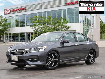 2017 Honda Accord Sport/18Alloys/Fog lights/Moonroof/dual Exhaust/ (Stk: K31880) in Toronto - Image 1 of 27