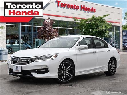 2016 Honda Accord Touriing/LED Headlights/18Alloys/Navi/Led Tail li (Stk: 39540) in Toronto - Image 1 of 27