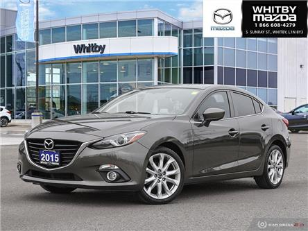 2015 Mazda Mazda3 GT (Stk: 190452A) in Whitby - Image 1 of 27