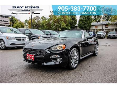 2017 Fiat 124 Spider Lusso (Stk: 187732A) in Hamilton - Image 1 of 23