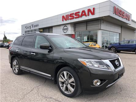 2016 Nissan Pathfinder Platinum (Stk: V0463A) in Cambridge - Image 1 of 30