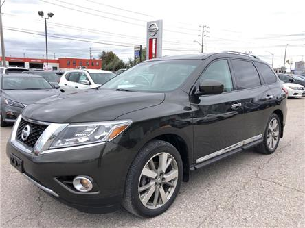 2016 Nissan Pathfinder Platinum (Stk: V0463A) in Cambridge - Image 2 of 30