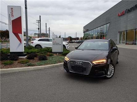 2018 Audi A3 e-tron 1.4T Technik (Stk: 52923A) in Ottawa - Image 1 of 5