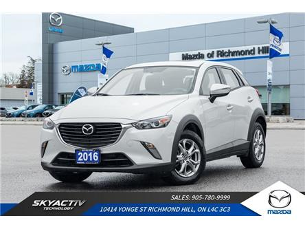 2016 Mazda CX-3 GS (Stk: 19-072A) in Richmond Hill - Image 1 of 19