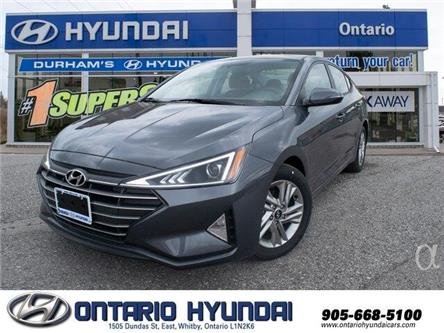 2020 Hyundai Elantra Preferred w/Sun & Safety Package (Stk: 947258) in Whitby - Image 1 of 20