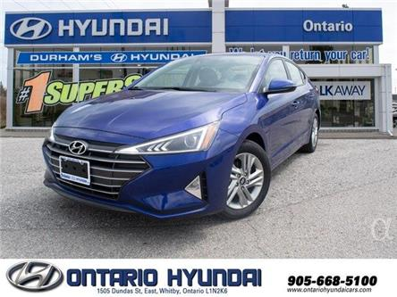 2020 Hyundai Elantra Preferred w/Sun & Safety Package (Stk: 953350) in Whitby - Image 1 of 20