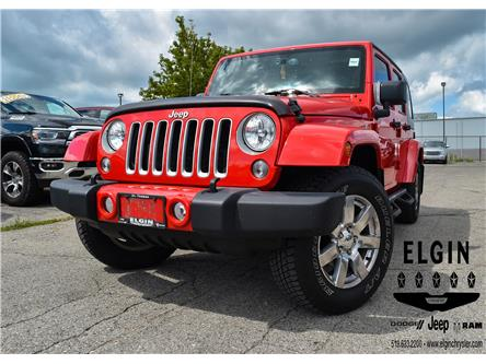 2016 Jeep Wrangler Unlimited Sahara (Stk: 58869) in St. Thomas - Image 1 of 30