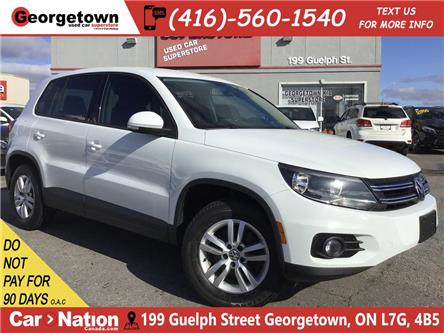 2014 Volkswagen Tiguan Trendline | 4MOTION | TINTS | ALLOYS | BLU TOOTH (Stk: P12552) in Georgetown - Image 1 of 25
