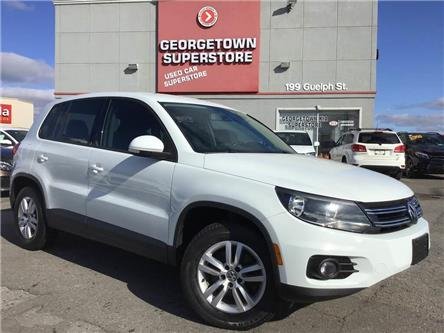2014 Volkswagen Tiguan Trendline | 4MOTION | TINTS | ALLOYS | BLU TOOTH (Stk: P12552) in Georgetown - Image 2 of 25