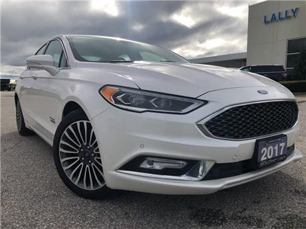 2017 Ford Fusion Energi Platinum (Stk: S10426R) in Leamington - Image 1 of 25