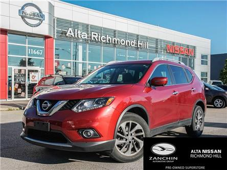2016 Nissan Rogue SL Premium (Stk: RU2747) in Richmond Hill - Image 1 of 27