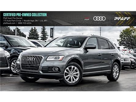 2016 Audi Q5 2.0T Progressiv (Stk: C7170) in Woodbridge - Image 1 of 22