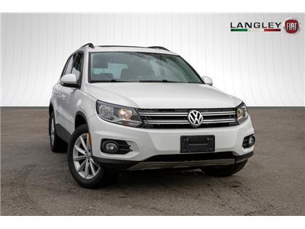 2017 Volkswagen Tiguan Wolfsburg Edition (Stk: LF6603) in Surrey - Image 1 of 22