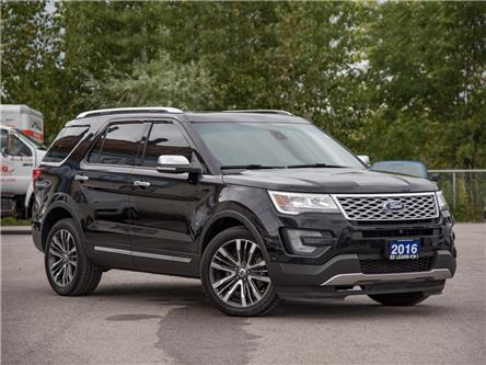 2016 Ford Explorer Platinum (Stk: 19EX1110T) in St. Catharines - Image 1 of 21