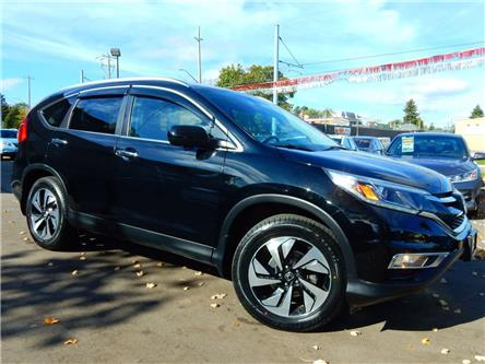 2015 Honda CR-V Touring (Stk: 5J6RM4) in Kitchener - Image 1 of 29