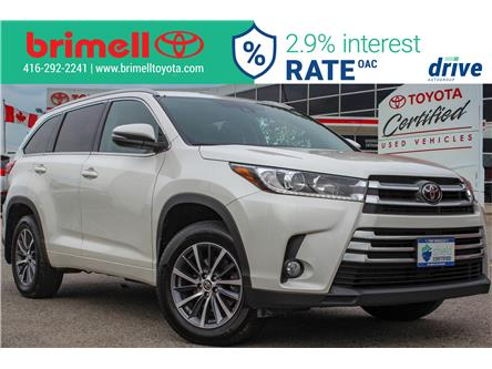 2018 Toyota Highlander XLE (Stk: 196664A) in Scarborough - Image 1 of 32