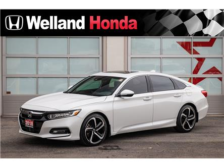 2018 Honda Accord Sport (Stk: U6728) in Welland - Image 1 of 21