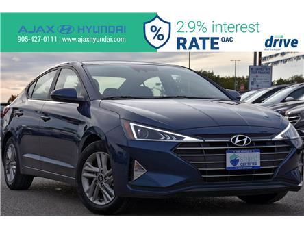 2019 Hyundai Elantra Preferred (Stk: P4837R) in Ajax - Image 1 of 32
