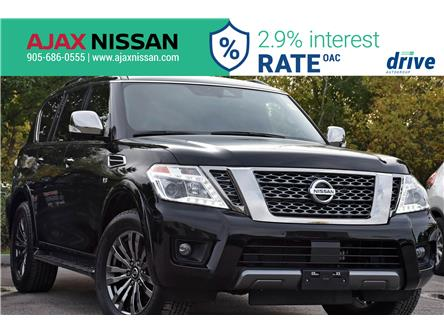 2019 Nissan Armada Platinum (Stk: P4276CV) in Ajax - Image 1 of 37