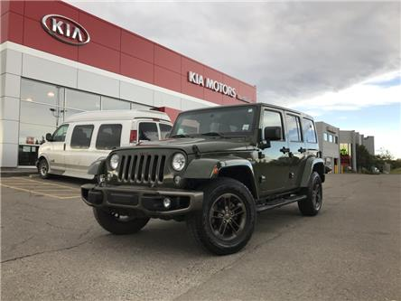 2016 Jeep Wrangler Unlimited Sahara (Stk: P0396A) in Calgary - Image 1 of 19