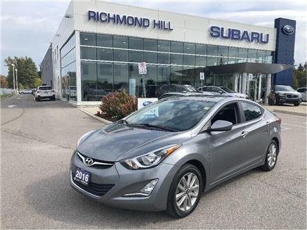2016 Hyundai Elantra Sport Appearance (Stk: TLP0307) in RICHMOND HILL - Image 1 of 17
