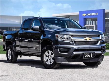 2016 Chevrolet Colorado 4WD WT (Stk: P6375) in Markham - Image 1 of 26