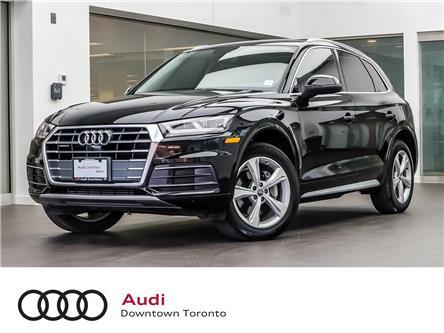 2018 Audi Q5 2.0T Progressiv (Stk: P3494) in Toronto - Image 1 of 26