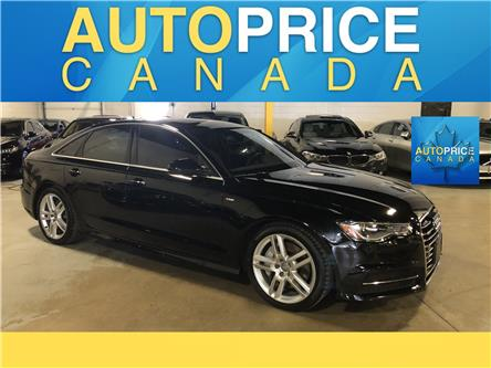 2016 Audi A6 2.0T Progressiv (Stk: W0647) in Mississauga - Image 1 of 27