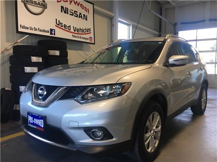 2016 Nissan Rogue SV (Stk: P0722) in Owen Sound - Image 1 of 12