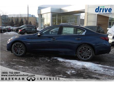 2019 Infiniti Q50 3.0t Red Sport 400 (Stk: K568) in Markham - Image 2 of 21
