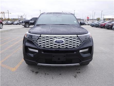 2020 Ford Explorer Platinum (Stk: 20-05) in Kapuskasing - Image 2 of 10