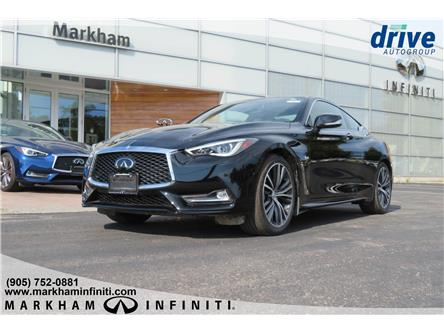 2019 Infiniti Q60 3.0t LUXE (Stk: K759) in Markham - Image 1 of 18