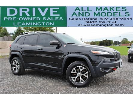 2015 Jeep Cherokee Trailhawk (Stk: D0186) in Leamington - Image 1 of 30
