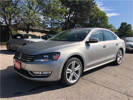 2014 Volkswagen Passat Comfortline, DIESEL, LEATHER, LOADED (Stk: 5504) in Stoney Creek - Image 2 of 21