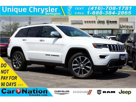 2018 Jeep Grand Cherokee LIMITED| NAV| TRAILER TOW GRP| SUNROOF| LED & MORE (Stk: K715A) in Burlington - Image 1 of 48