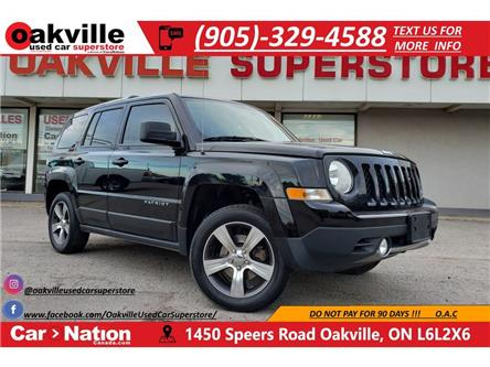 2016 Jeep Patriot NORTH | LEATHER | SCREEN | SURNOOF | HTD SEATS (Stk: OSP043) in Oakville - Image 1 of 20