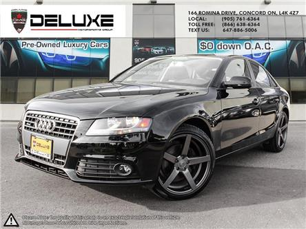 2012 Audi A4 2.0T (Stk: D0656) in Concord - Image 1 of 15
