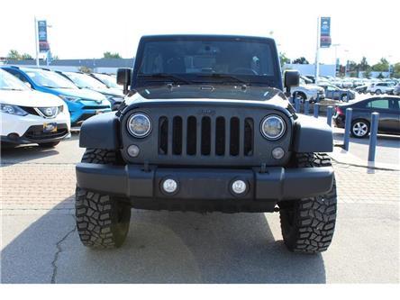 2015 Jeep Wrangler Unlimited Sport (Stk: 528894) in Milton - Image 2 of 16