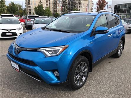 2018 Toyota RAV4 Hybrid Hybrid Limited (Stk: U2892) in Vaughan - Image 1 of 25