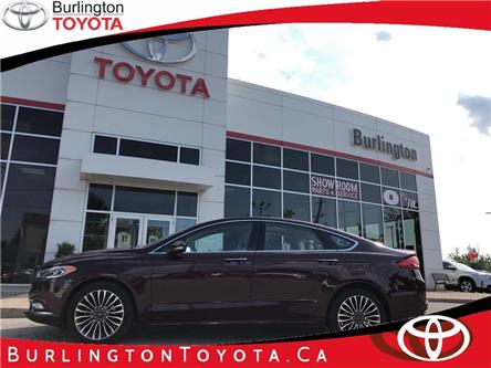 2017 Ford Fusion Platinum (Stk: 198314A) in Burlington - Image 1 of 19