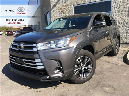2018 Toyota Highlander LE AWD ALLOYS, BACK UP CAMERA, 8 PASSENGER, TSS-P, (Stk: 45708A) in Brampton - Image 1 of 26