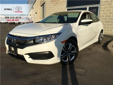 2017 Honda Civic Sedan LX BLUETOOTH, HEATED SEATS, BACK UP CAMERA, ABS, K (Stk: 44097A) in Brampton - Image 1 of 23
