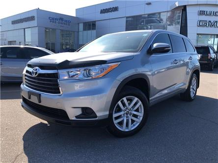 2016 Toyota Highlander  (Stk: U302943) in Mississauga - Image 1 of 21